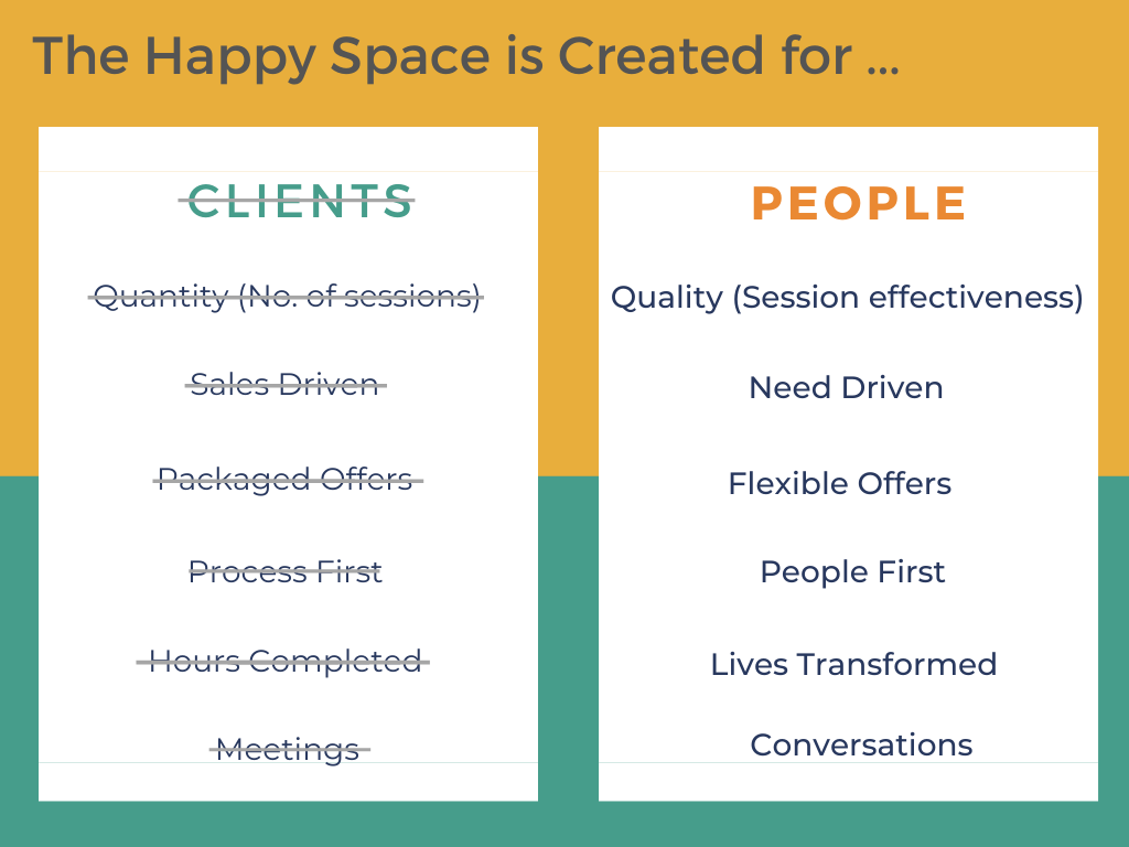 people centric - the happy space